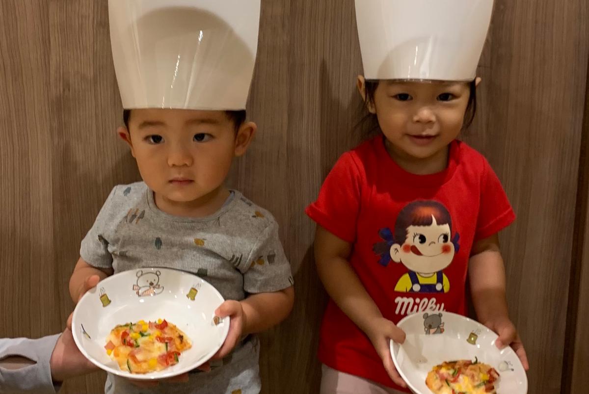 8 月は食育でピザ作り 大阪の企業主導型保育園リコラ